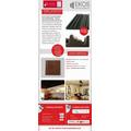 Panel Placa Acustica Ekos Pro A3 3d 50mm Autoextinguible