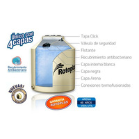 Tanque Rotoplas 850 Lts Arena Con Accesorios