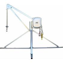 Guinche Pluma P/obra 60mts Cable Acerado Monofasico Megamaq
