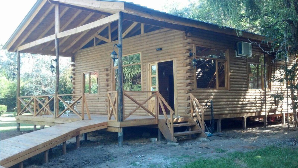 Construccion de cabaas en madera casa de troncos tattoo - Construccion de cabanas de madera ...