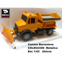 Camion Barrenieve Coleccion Esc1:43 Metal Pala Cargadora !