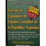 Vendo Libro Normas De Exposicion De Estados Contables
