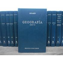 Geografía Libros 5-7 Estrabón Editorial Gredos