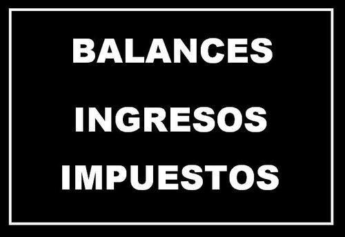 Contador Firma Balance - Firma Certificacion - Cap. / Prov.