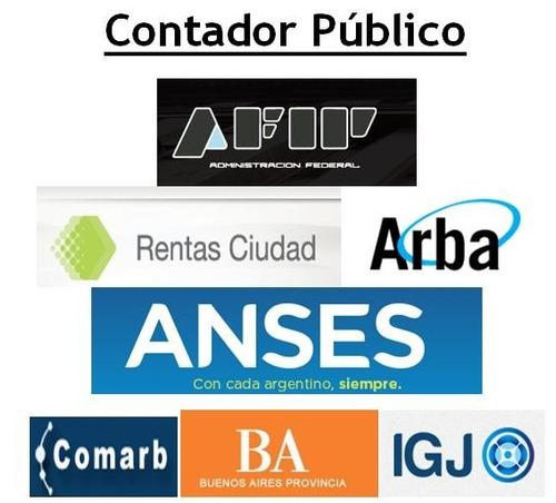 Contador Público - Matricula Caba - Particulares/sociedades