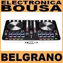 Consola Reloop Beatmix-2 Mixer Usb Pc/mac Belgrano