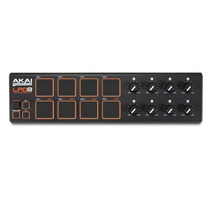 Akai Lpd8 Controlador Midi Usb 8 Pads 8 Knobs Laptop Control