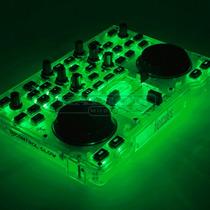 Controlador De Dj Hercules Dj Control Glow Green