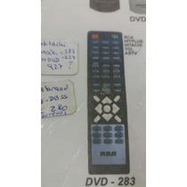 Control Remoto Dvd 283 Rca Hitplus Hitachi Tcl Astv