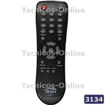 3134 Control Remoto Tv Rs300f Bgh Admiral