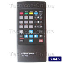 2446 Control Remoto Tv Tp623 Tp622 Grundig