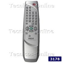 3178 Control Remoto Tv Rca Tcl