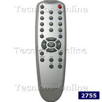 2755 Control Remoto Tv Admiral Crown Mustang Philco