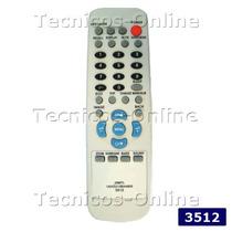 3512 Control Remoto Lcd Sanyo Noblex Philco Jxmtl Jxmtm Pip