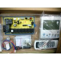 Control Y Plaqueta Universal Aire Acond. Con Visor De Temp