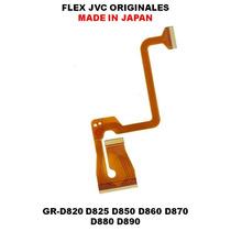 Flex Camara Jvc Everio Originales Gr-d850 D860 D870 D890!!