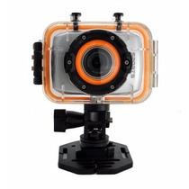 Cámara Sport Tipo Go Pro Waterproof 30 Metros Full Hd 1080p