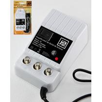 Amplificador De Señal Antena Cable Tv 2 Salidas 28 Db A 220v