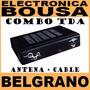 Conversor Decodificador Tda Dynamont Combo Antena + Cable