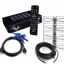 Conversor Decodificador Sintonizador Con Antena Tda Full Hd