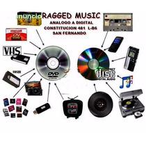 Vhs A Dvd Vinilo A Cd Cassette A Cd