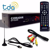 Sintonizador Tv Digital Full Hd Tda Coradir. Nuevo Dtv 2400!