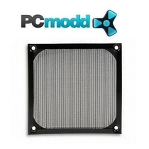Filtro Cooler Fan Ventilador 120x120mm Aluminio Color Negro
