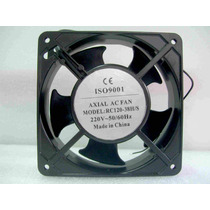 Turbina Cooler Fan Ventilador 120x120mm 220vca 2800 Rpm Buje