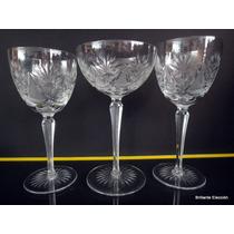 Juego Copas (35) Cristal Bohemia-cristal