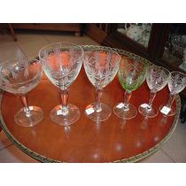 1395 B-hermoso Juego De Copas De Cristal 52 Piezas