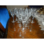 12 Copas De Jerez U Oporto Cristal Grabado.microcentro-avell