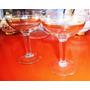 Antiguo Tu Y Yo Copas Champagne Cristal Guarda En Oro
