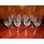 12 Copas Oporto Cristal Talladas Delicado Diseño (ángela)