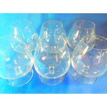 El Arcon Juego De 6 Copas De Cognac De Cristal Neutro 020