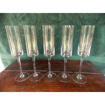 Copas De Cristal Para Champagne Vintage X 5