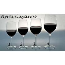 Copas De Vino Borgoña / Todo En Cristaleria