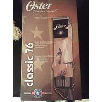 Vendo Maquina Oster Professional Classic 76 Edicion Limitada