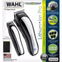 Maquina Wahl Lithium Ion.+ Kit 28 Piezas Oferta /usa / Unica