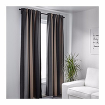 Ikea - Cortinas Suecas Black Out Praktlilja Riel O Barral