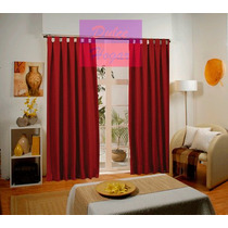 Cortinas Blackout Textil Lavable 2 Paños 1.40x2.10 Hermosas