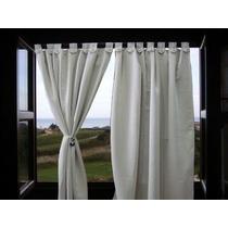 Cortina Blackout Textil Largas - 2 Paños 3.00x1.40 P/barral