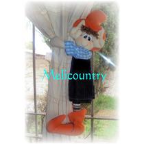 Muñecos Country Duendes Sujeta Cortinas