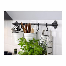 Ikea - Barral Cocina Sueco Fintorp 57 Cm Acero Negro