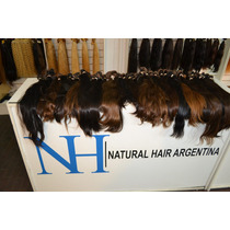 Cortinas De Cabello Natural,local A La Calle!!!!!!!