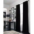 Juego De Cortinas Blackout Textil Lavable Presillas Ocultas