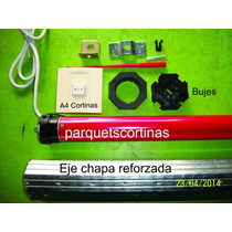 Motor Para Cortina Pvc Madera O Aluminio Kit Completo Oferta