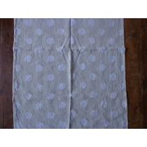 Visillos Cortinas Gasa Hindu Importada Son 4 Visillos Blanco