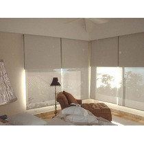 Fabrica De Cortinas Rol Dobles Black-out +screem (caballito)