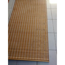 Cortinas Roller Roll Up Bamboo 2.40 X 90 (2 U.)