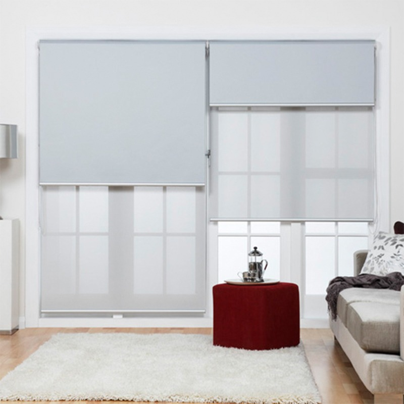 Cortinas roller doble black out y screen sd deco belgrano - Cortinas roller black out ...